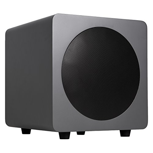 "Kanto sub8 8"" 120W Powered Subwoofer Matte Gray SUB8MG"