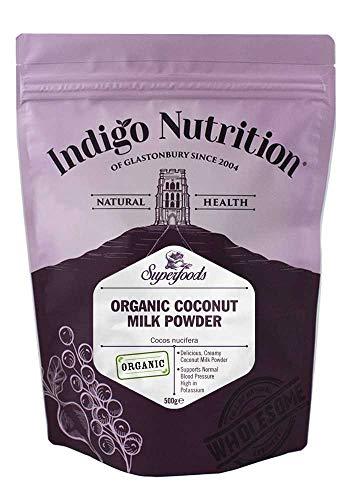 Indigo Herbs Bio Kokosmelk Poeder 500g | Organic Coconut Milk Powder