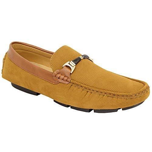 On Slip look Mocassini NASTRO camoscio scarpe ITALIANA moccassini BARCA Driving Ccc063 Uomo Cammello NUOVO EYgqH0wx