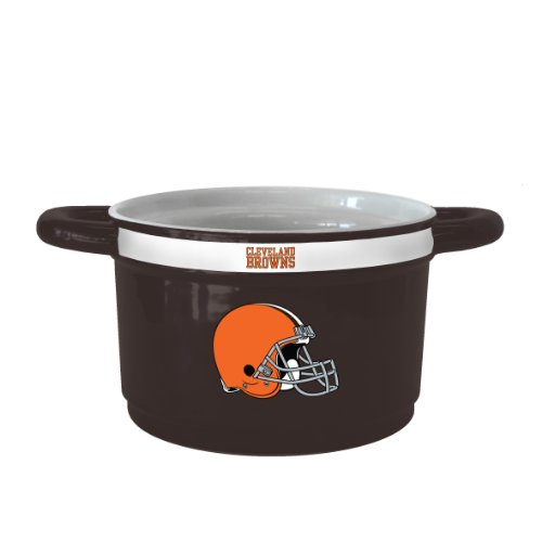 - NFL Cleveland Browns Sculpted Gametime Bowl, 23-Ounce