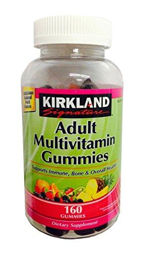 Kirkland Signature Adult Multivitamin Gummies, 160 Gummies