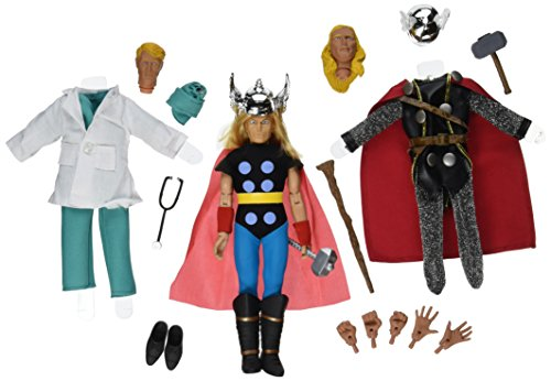 Diamond Select Toys Marvel Retro Thor Limited Edition Action Figure Gift Set