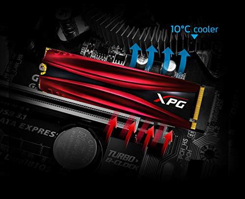 XPG GAMMIX 1TB S11 Pro 3D NAND PCIe NVMe Gen3x4 M.2 2280 SSD (AGAMMIXS11P-1TT-C) by XPG (Image #2)