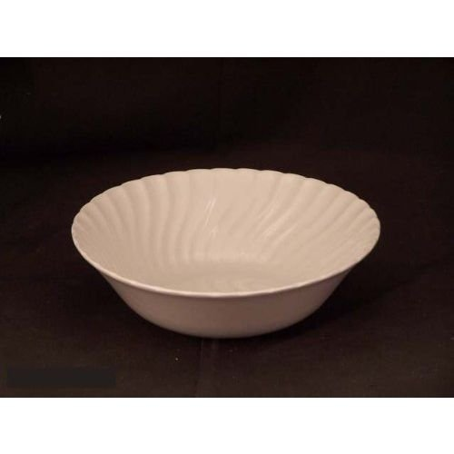 Johnson Brothers Regency 8-1/4-Inch Round Open Vegetable Bowl, White (Regency Dinnerware)