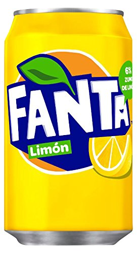 Fanta Icy Lemon Soft Drink Can 330 Ml (pack Of 24) by Fanta Lemon