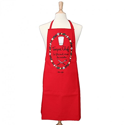 Toque Alma Grembiule Red Adult Mater Chef gRwOUqx5