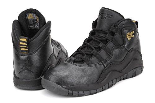 Air Max 95 PRM cinta en funcionamiento de zapatos Negro (Black / Black-Drk Grey-Mtllc Gld)