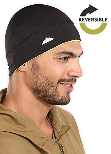 (Skull Cap/Helmet Liner/Thermal Running Beanie Hat - Fits Under Helmets)