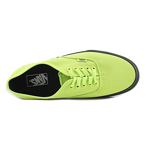 Gn Outsole Neon Bk Black Authentic Vans wIf7gg