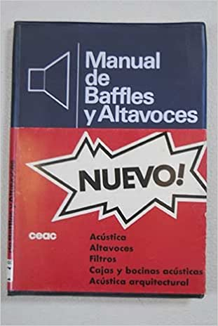 Manual De Baffles Y Altavoces: Ruiz Vassallo Francisco: Amazon.com: Books