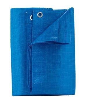 Home Plus P57-88W Light Duty Polyethylene Tarp, Light Blue, 5' x 7' by Home Plus by Ace Trading - Tarps 4