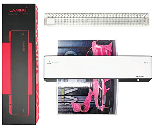 VViViD Lamin8 A4 Size Laminator and Built-in Trimmer