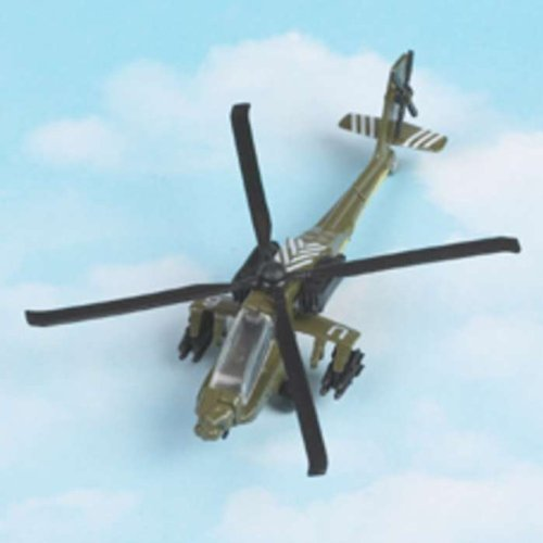 Hot Wings - Plane Circuit : Military Helicopter - AH-64 Apache by Dam - Jeux