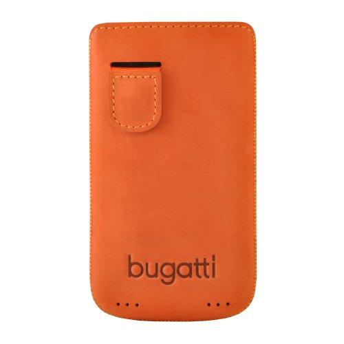 bugatti PerfectVelvety Ledertasche für Apple iPhone 4/4S mandarin