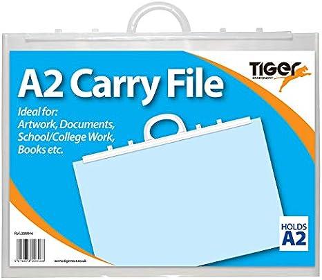 Clear Carry Case A1 Portfolio Artist Art Waterproof Folder Plastic