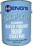 Heng's 16-43128-4 Roof Coating Alkyd Alum Gal