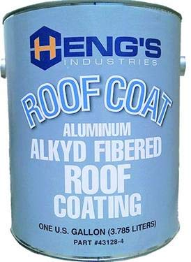 Heng's 16-43128-4 Roof Coating Alkyd Alum Gal ()