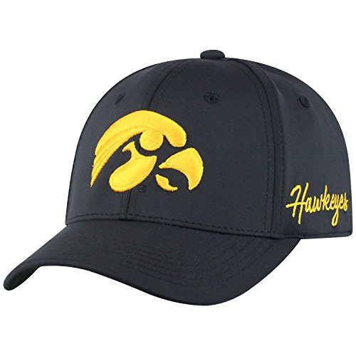 - Top of the World Iowa Hawkeyes Men's Fitted Hat Icon, Black, One Fit