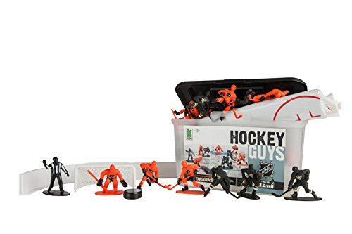 (Kaskey Kids Penguins vs Flyers NHL Hockey Guys Action Figure Set - 27 pieces and accessories)