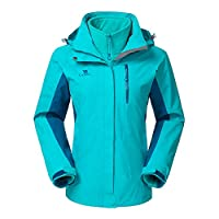 Deals on Camel Crown 3-in-1 Women's Waterproof Ski Jacket