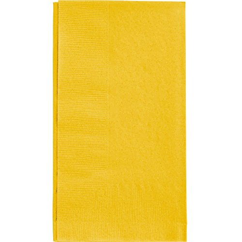 (Yellow Dinner Napkin, Choice 2-Ply, 15