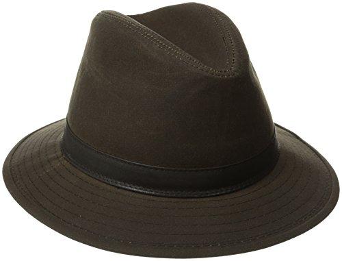 otton Safari Hat, Brown, Medium (Dorfman Pacific Hat Company)