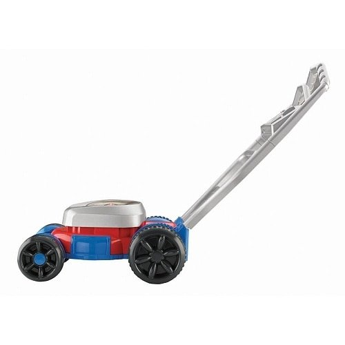 Fisher-Price Bubble Mower Red and Blue