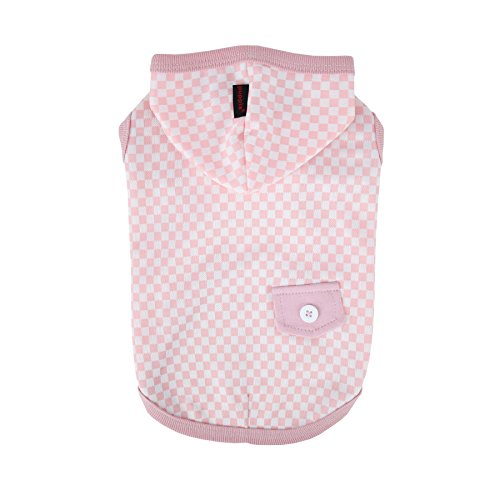 Puppia Baby Dream Sleeveless Hoodie, Small, Indian Pink by Puppia