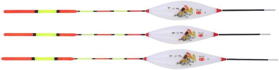 flotadores y bobinas Accesorios para Pesca en Hielo en Aguas Poco Profundas Pesca Flotante Flotador Nanocompuesto Pesca Corchos 3 uno para la Venta