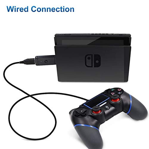 Wireless Controller Adapter for Nintendo Switch PS3/PC, Controller Converter Adapter Supports PS3/PS4/Xbox 360/ Xbox One X/Xbox One S/ Switch Pro Controller