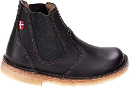 Duckfeet Roskilde Chelsea Boot,Black Leather,EU 37 M