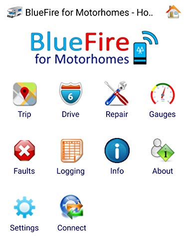 BlueFire 6-Pin J1708 Bluetooth Data Adapter for Heavy Duty