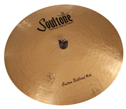 """UPC 028672138470, Soultone Cymbals CBRRA-FLRID26 - 26"""" Custom Brilliant RA Flat Ride"""