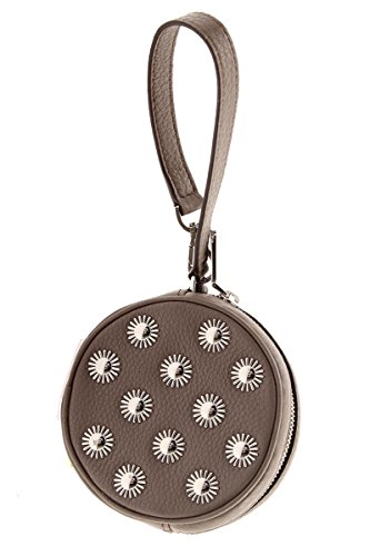 Coin Studded (MICHAEL KORS Jet Set Travel Studded Leather Coin Purse Pouch (Cinder))