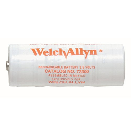 Welch Allyn Direct Plug-in Rechargeable Handle 3.5v Replacement Nicad Rechargeable Battery 3.5v ()