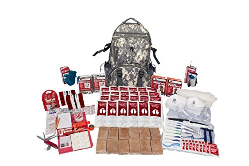 Guardian Survival Gear 2 Person Deluxe Survival Kit 72 Plus Hours - CAMO Backpack