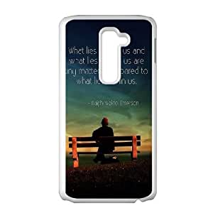 LG G2 Cell Phone Case White quotes sayings 11 SLI_594589
