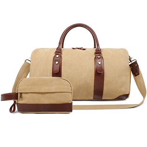 Large Overnight Bag Weekend Bag Holdalls for Women and Men 67910bb42dd61