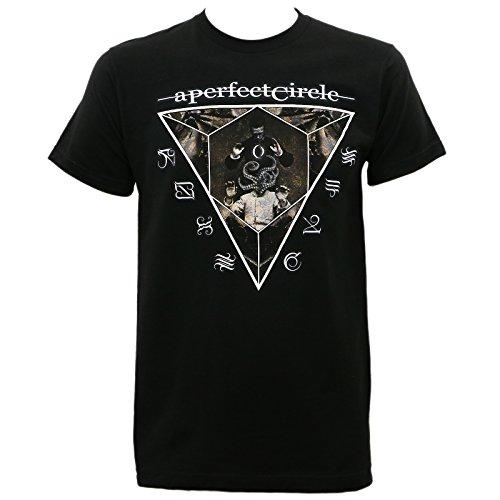 Tee Mens Circle - A Perfect Circle Men's Outsider Slim-Fit T-Shirt XL