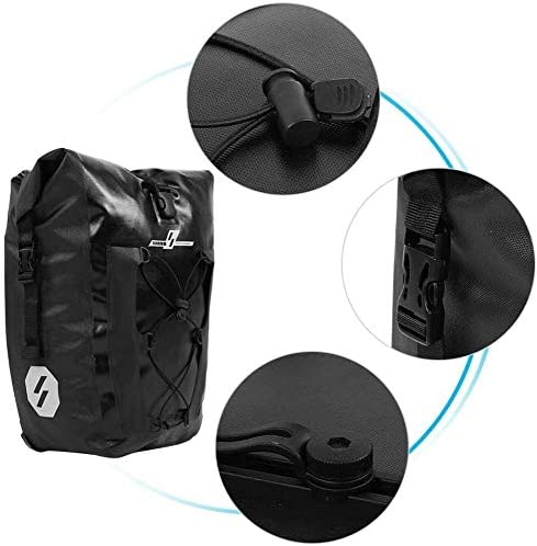 自転車リアシートバッグ、自転車防水バッグ、リアフレームバッグ、シートロッド収納テールバッグ、自転車乗馬アクセサリー