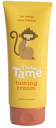T is for Tame | 100% Natural Hair Taming Matte Cream | for Kids, Toddlers & Babies | Chemical Free | Light Hold | Not Stiff, Sticky or Greasy