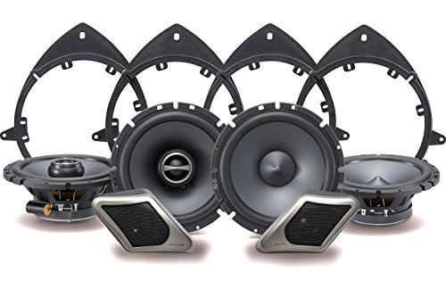 Alpine Electronics SPT-21GM Restyle 2-Way Speaker System for Full-Size Chevy, GMC Trucks or SUVs, Set of 8 by Alpine