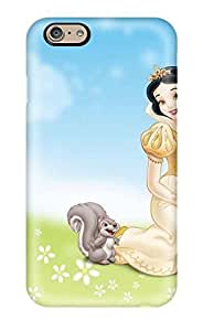 Premium Durable Snow White With Squirrel Fashion Tpu Iphone 6 Protective Case Cover Kimberly Kurzendoerfer