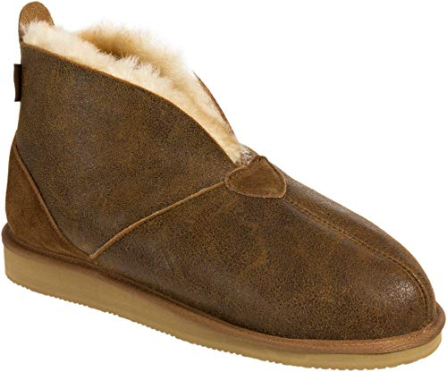 Men's Gunner Australian Merino Sheepskin Slippers (Slippers Boot Sheepskin Ankle)