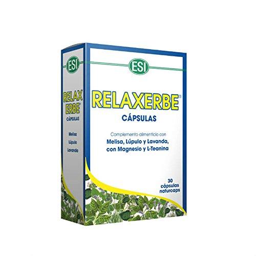 ESI Relaxerbe Complemento Alimenticio - 30 Cápsulas: Amazon.es: Salud y cuidado personal