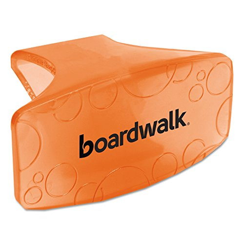Boardwalk CLIPMAN Bowl Clip, Mango Scent, Orange (Box of (Toilet Deodorizer)