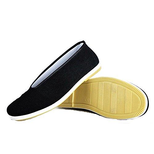 Junkai, Chaussures Arts Martiaux Hommes Noir Noir