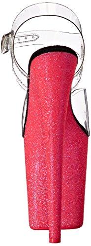 808uvg Neon Nhpg Pleaser Transparente Clr Glitter Sandalias Flamingo H C Pink Mujer 4FxqTA