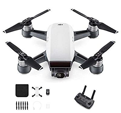 DJI Spark with Remote Control Combo (White) by DJI