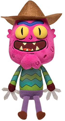 Funko Galactic Plushies: Rick and Morty-Scary Terry, Multico